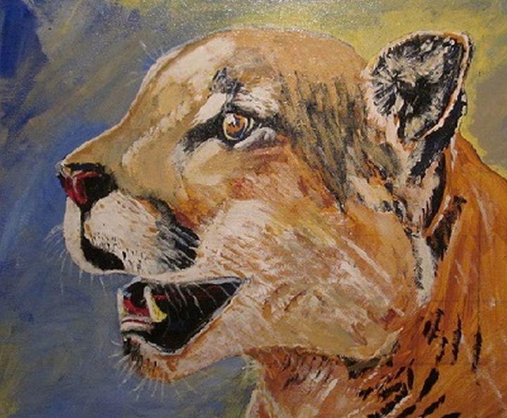 Mountain Lion - chris cooper's art