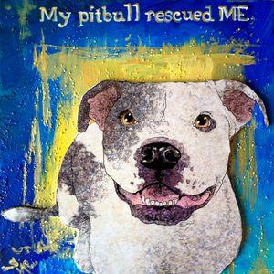 My Pitbull - Crooked Crow Studio