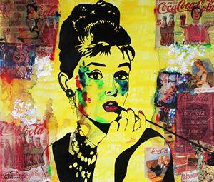AUDREY HEPBURN « Coca-Cola »