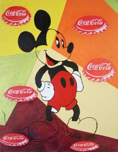 MICKEY MOUSE « Capsules Coca-Cola »