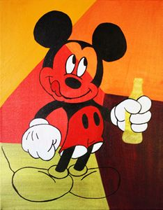 Mickey Mouse « Coca-Cola Drink »
