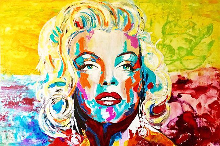MARILYN MONROE «Luminous» - Kathleen Artist PRO