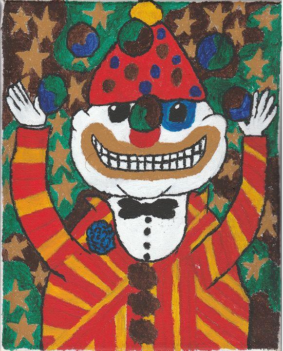 Juggling Clown - Meghan Yardas