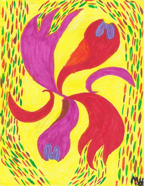Abstract Piece 15 - Meghan Yardas