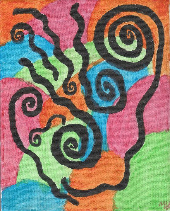 Abstract Piece 20 - Meghan Yardas