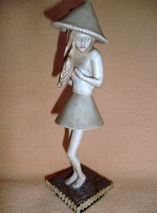 Figurine Sculptural Art Wood Carving - Gennady Makulov. The art of carving