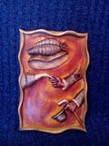 Original woodcarving