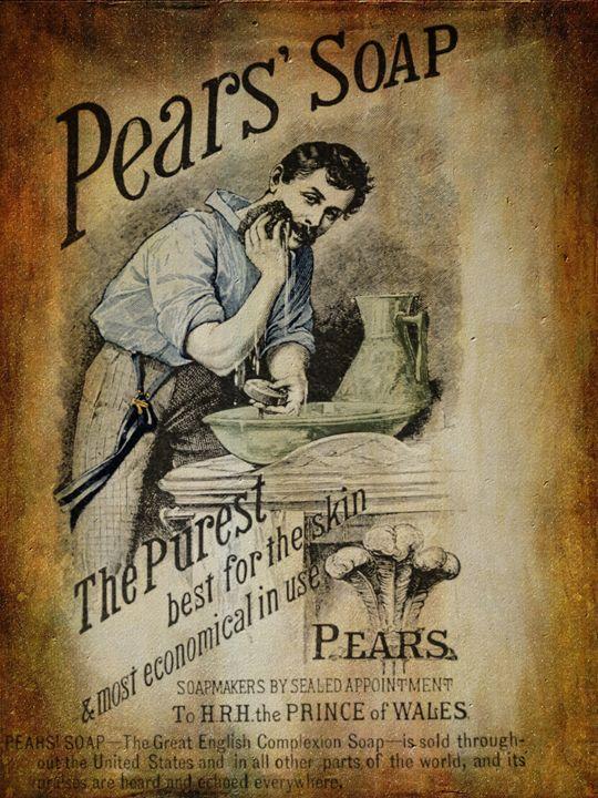 Pears Soap Advertisement 2 - Pine Singer Photographic Art