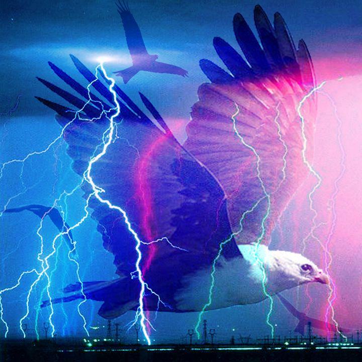 SALE - lightning strikes - eli's art