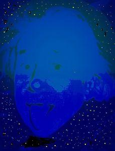 Albert Einstein/paradiseblueart
