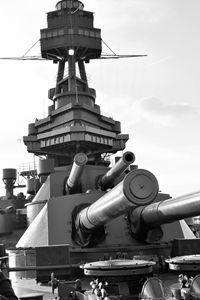 USS Texas Battleship Deck