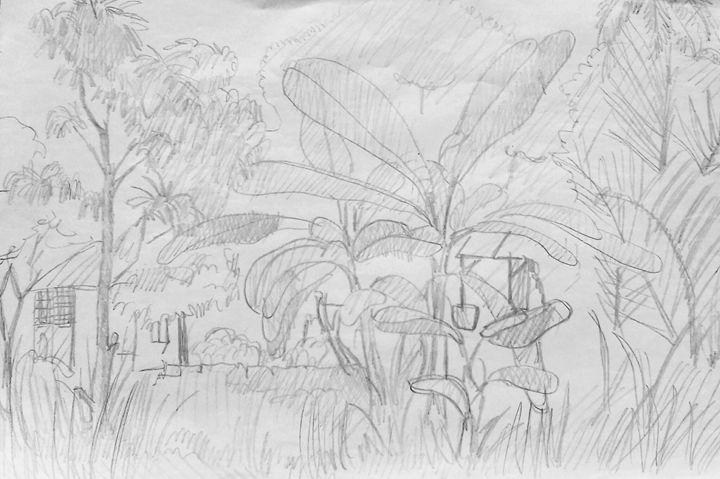 Garden old - Nguyenthaikhangart