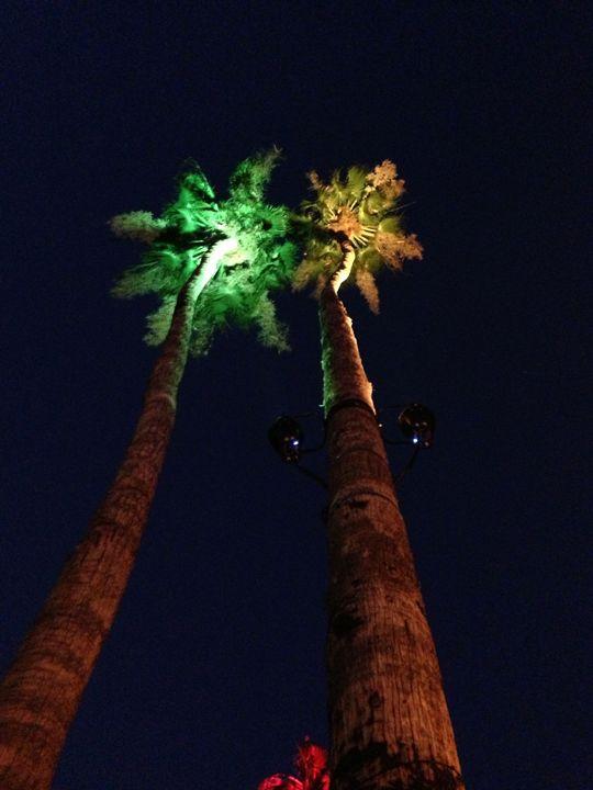 Palm Springs- Green & Yellow - Tim Thompson