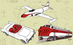 Jet Age Style - Sketches of Payne