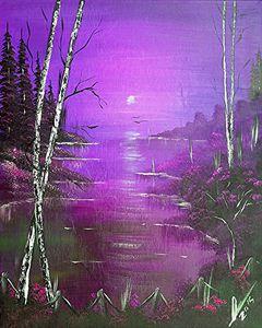 Violet Jamaica Sunrise