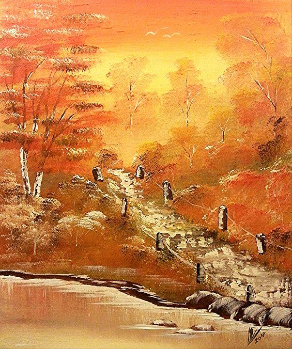 A Glimpse of Autumn - Collin A. Clarke