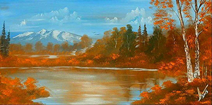 : Autumn Landscape 2 - Collin A. Clarke