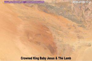 CROWNED KING BABY JESUS & THE LAMB