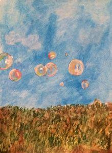 Bubbles in field