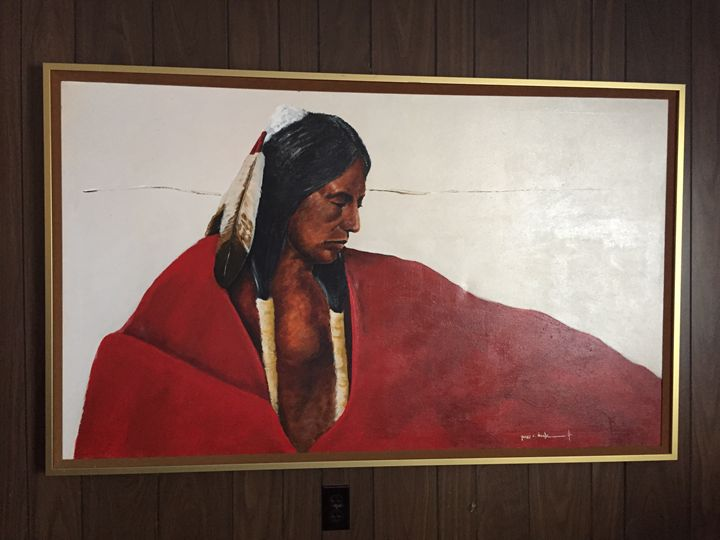 James C. Nagle Indian Painting - Oil Paintings!!