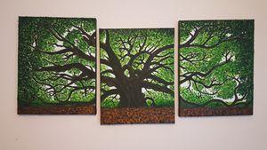 Giant Angle Oak Tree (3-sectional)