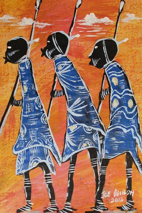 The Bushmen - African Art Gallery