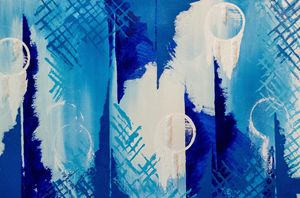 Dreamweaver Large Blue