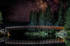 Milky Way with Bridge -Winchester,ID
