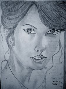 Taylor Swift's sketch