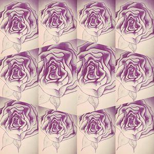 Newskool rose art