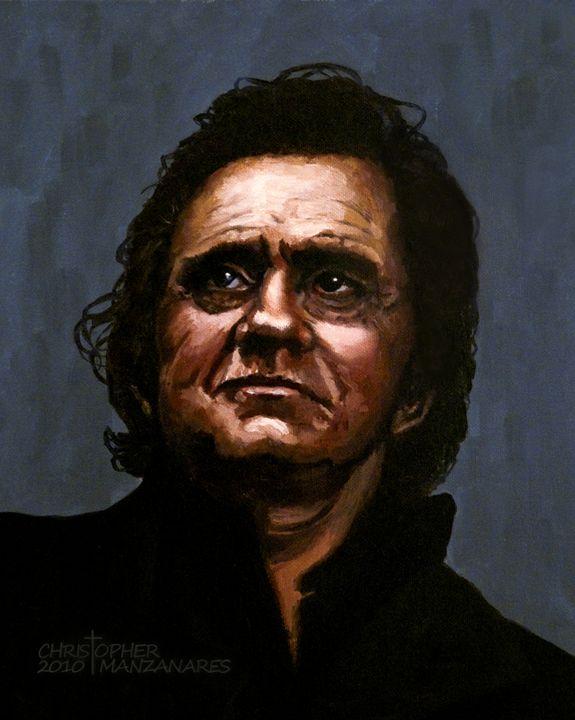 The Man in Black - Fine Art Studio of Christopher Manzanares