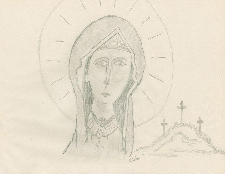 Mary Magdalene - KJohn Art