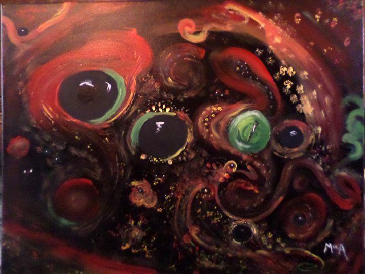 Eyes of the Universe - NeverFarAway Designs