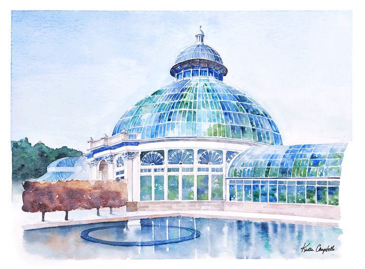 Conservatory at NYBG - Kirsten Compitello