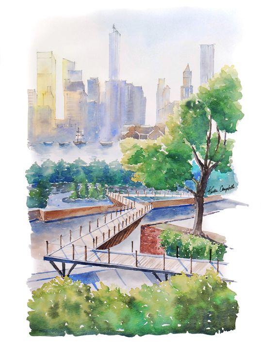 ZigZag Bridge, Brooklyn - Kirsten Compitello