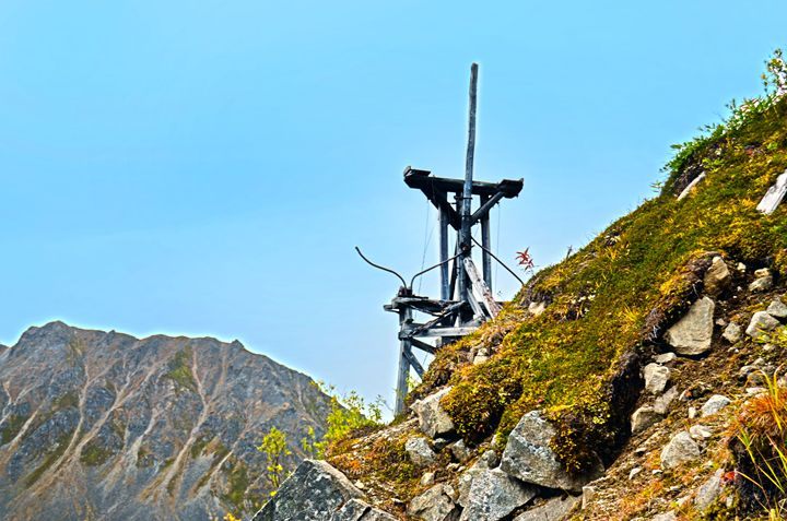 Hatcher Pass mine - Spade Photo