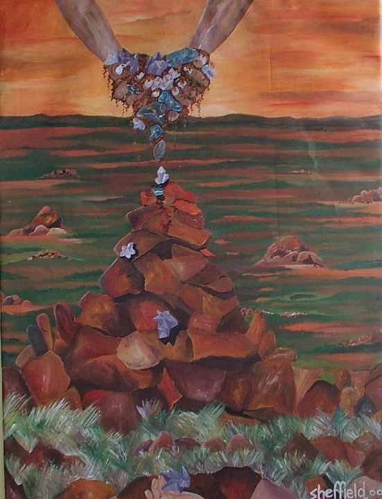crystals in the outback - Sheffield Art