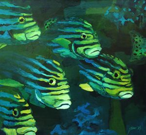 Stripped fishes