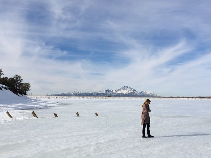 Frozen Totten Lake - Photography by Marcie Lowndes