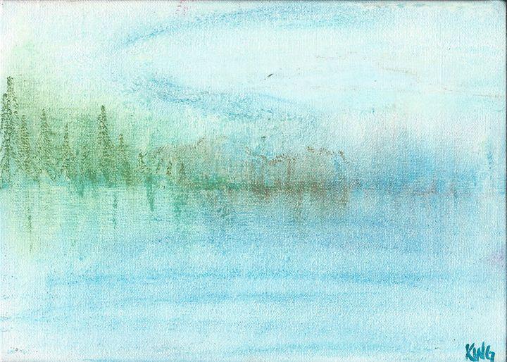 Lake View - Miss Lemonade's Canvas