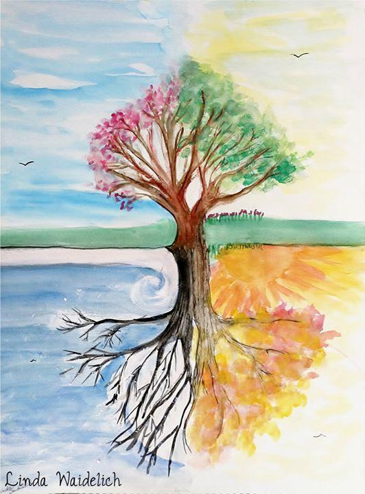 The Four Seasons Tree - Linda Waidelich