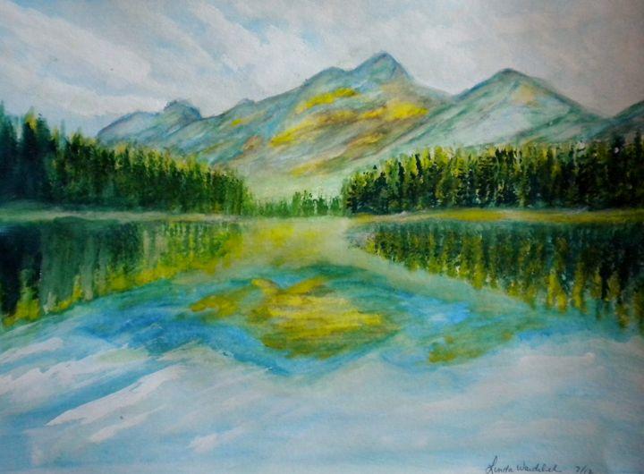 Mountain Scene - Linda Waidelich