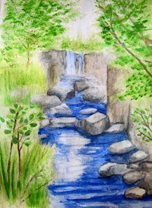 Pipestone Waterfall