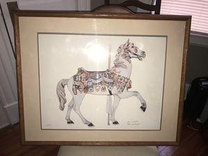 M. IIIions Carousel Horse