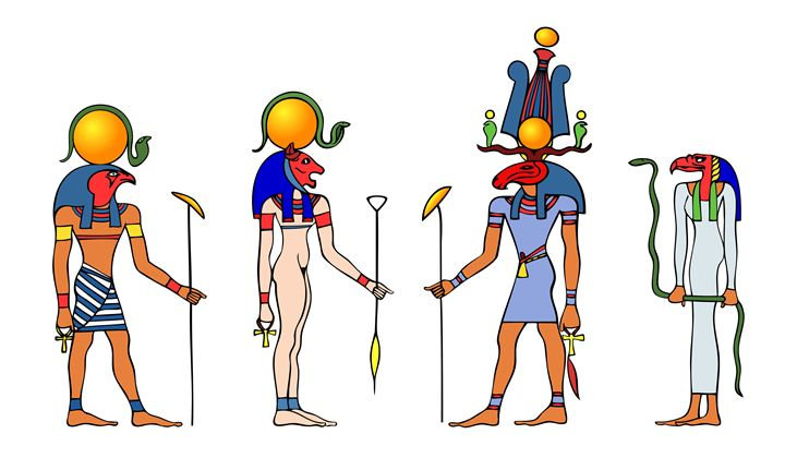 Gods and Goddess of ancient Egypt - Art Gallery