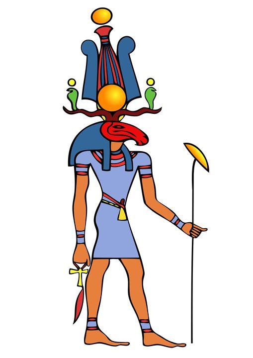 Egyptian God - Khensu - Art Gallery