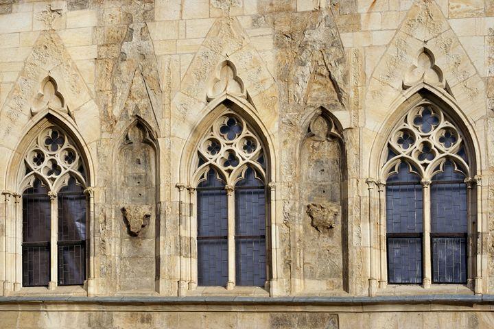Gothic windows - Art Gallery