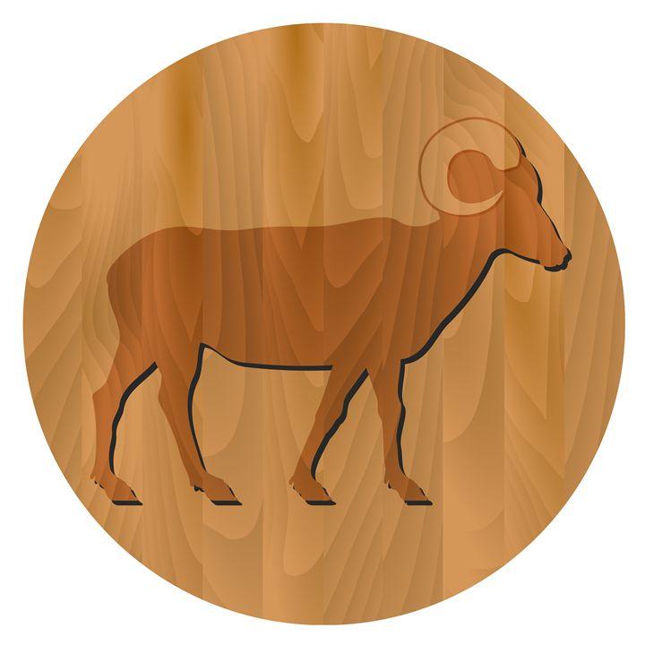 Zodiac Sign - Goat Year - Art Gallery