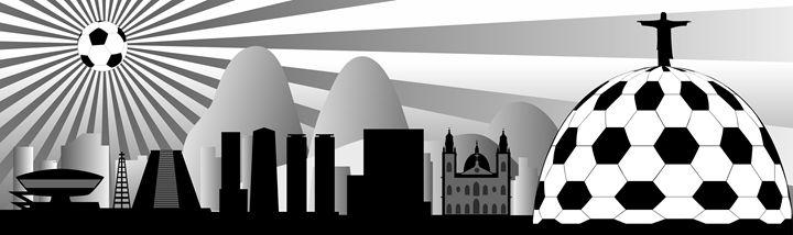 Rio de Janeiro skyline - Art Gallery