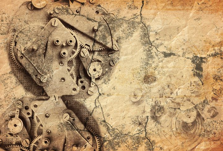 lost time - clockwork mechanism - Art Gallery